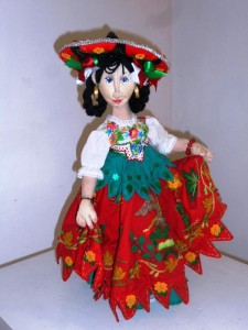 Mexican Folk doll small