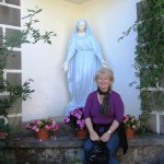 I get a special blessing from Mother Mary.
